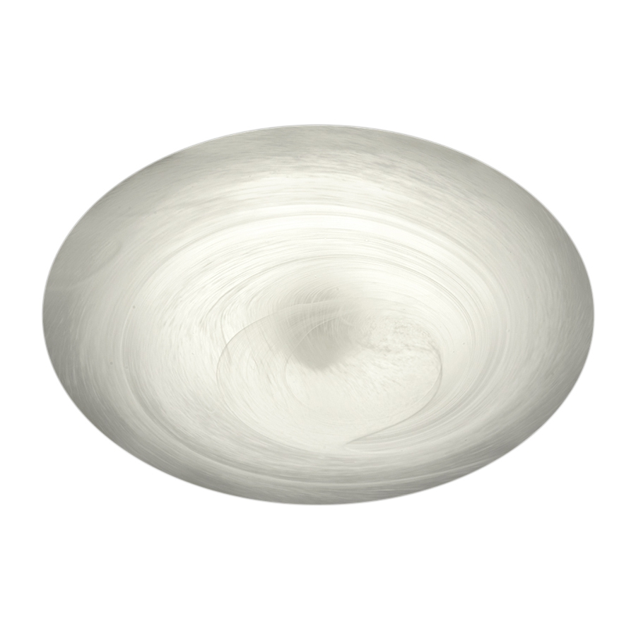 LED-plafondi Alabaster Ø 320x85 mm