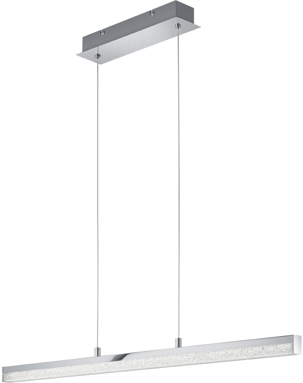 LED-riippuvalaisin Trio Alley 850x1500x80 mm kromi