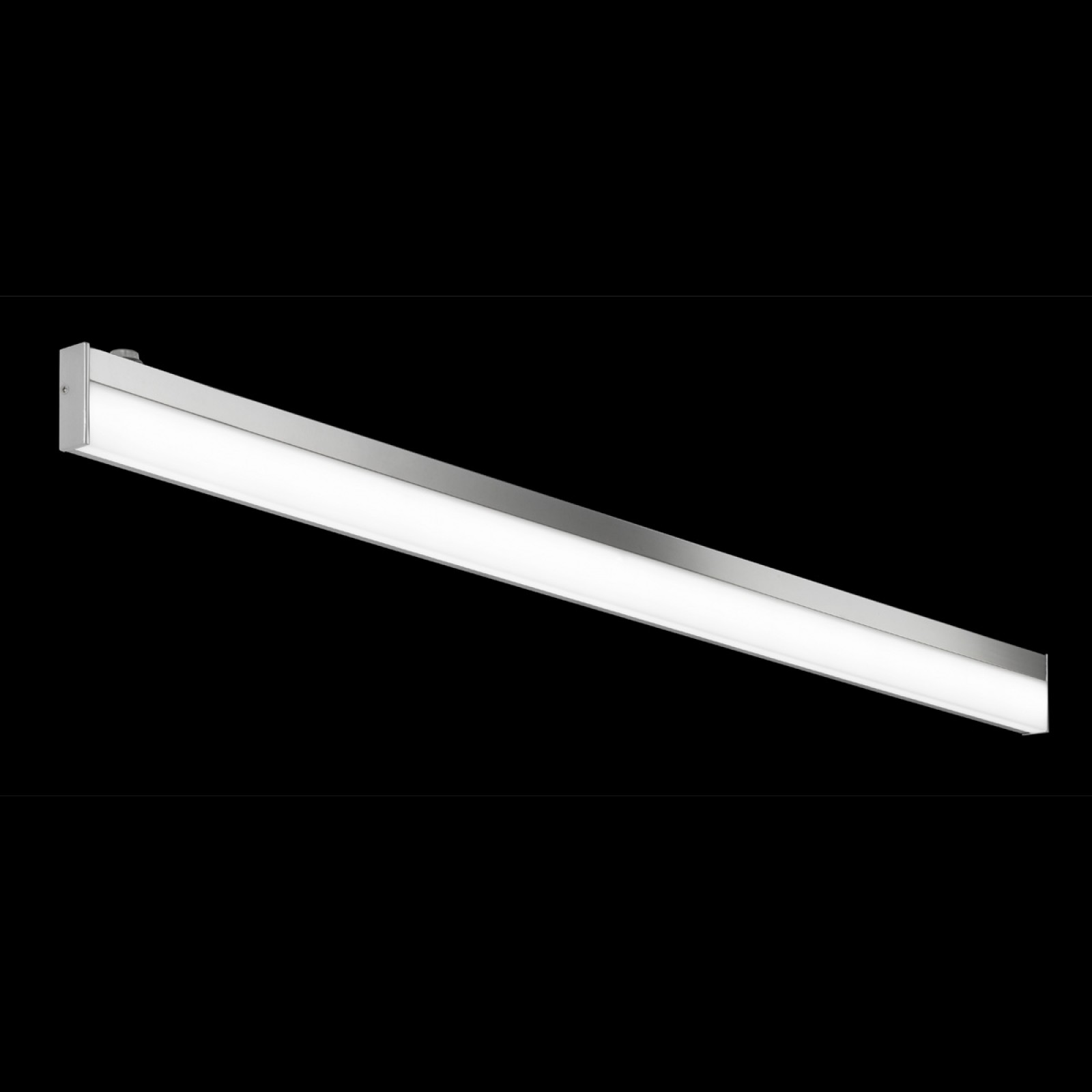 LED-seinävalaisin H2O 2817 1200x25x70 mm IP44 kromi