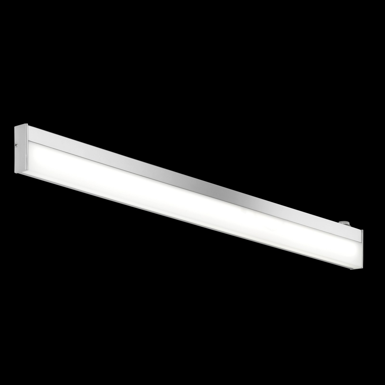 LED-seinävalaisin H2O 2817 880x25x70 mm IP44 kromi