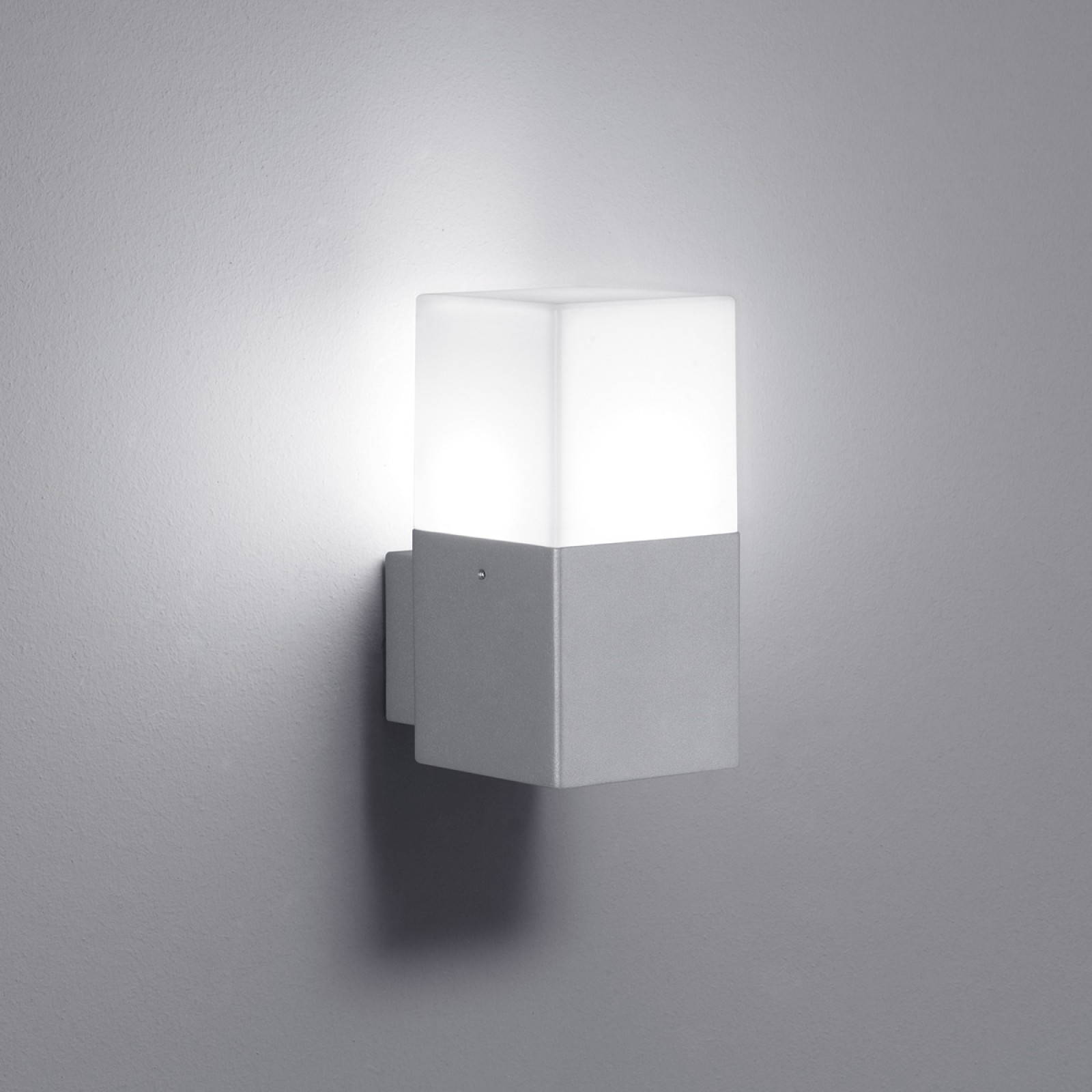 LED-seinävalaisin Hudson 85x115x170 mm titaani