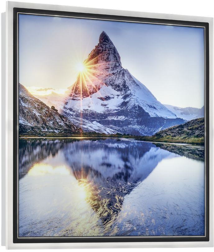 LED-seinävalaisin Trio Mountain, 420x420x46mm
