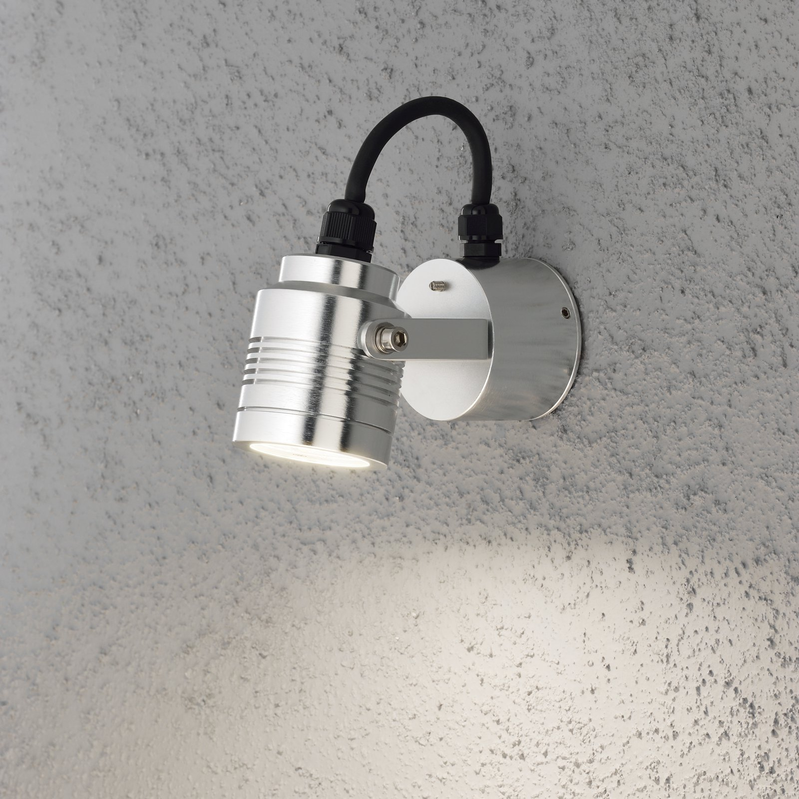 LED-seinävalaisin Monza 7903-310 80x130x80 mm alumiini
