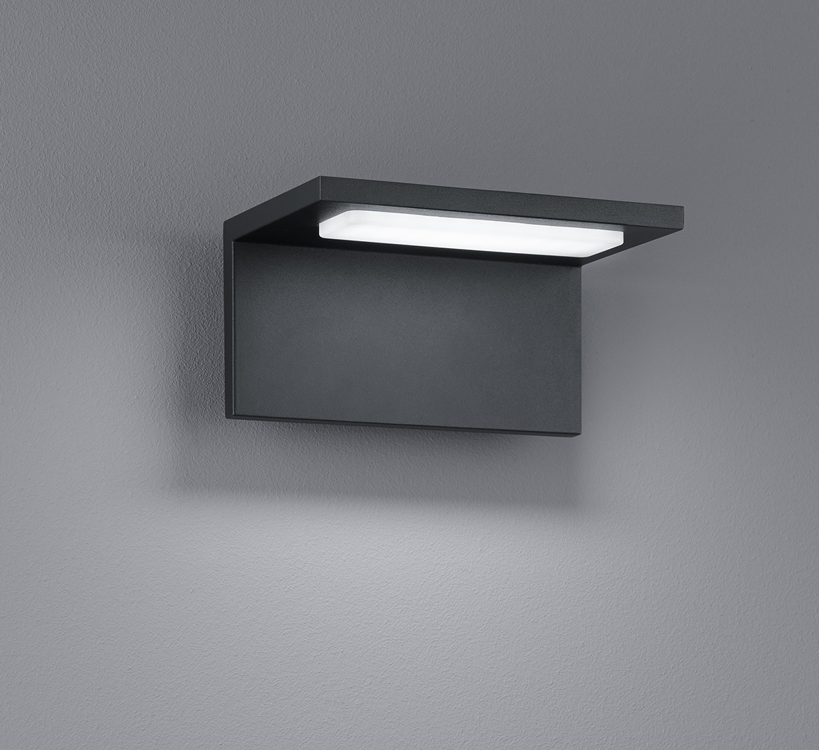 LED-seinävalaisin Trave 170x130x85 mm antrasiitti