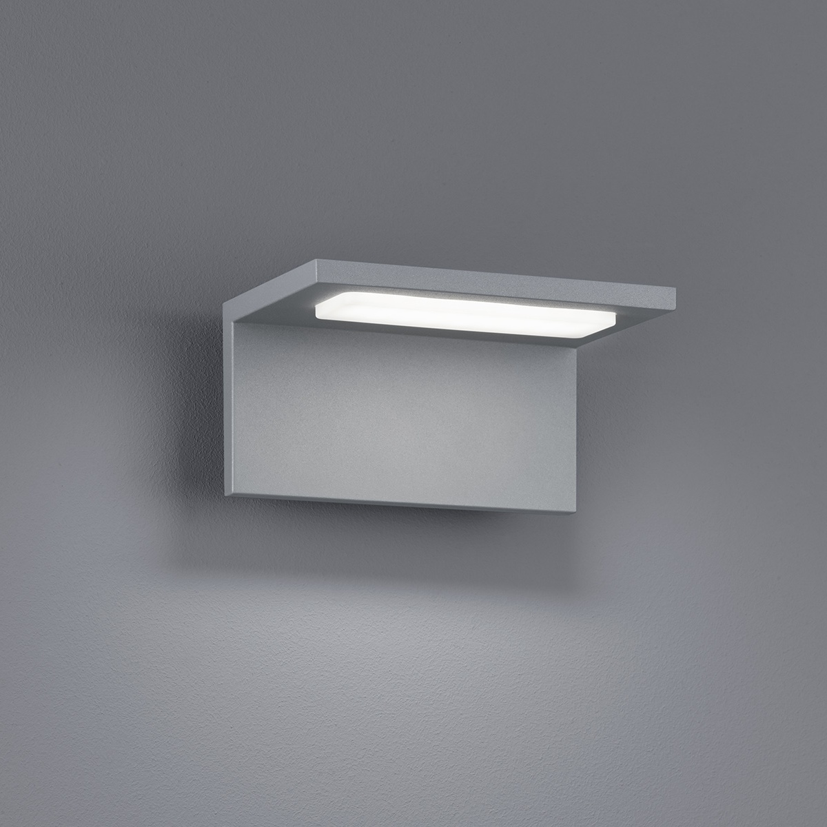 LED-seinävalaisin Trave 170x130x85 mm titaani