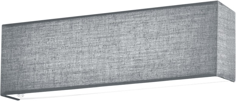 LED-seinävalaisin Trio Lugano 250x80 mm harmaa