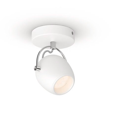 LED-spottivalaisin Philips Rivano single spot valkoinen 1x4.3W SELV
