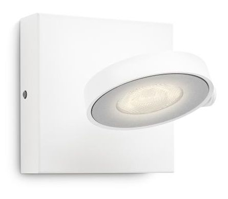 LED-spottivalaisin Philips myLiving Clockwork 110x110x90 mm valkoinen