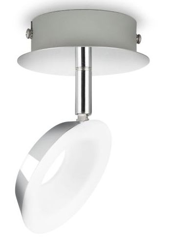 LED-spottivalaisin Philips myLiving Mackinaw 128x100x156 mm kromi