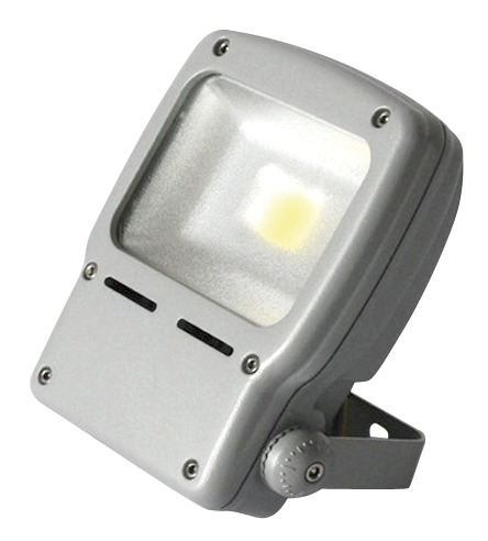 LED-valonheitin Airam Led Flood 50W/840 374x251x93 mm IP65 harmaa/huurrettu lasi