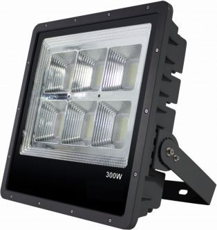 LED-valonheitin FTLight Work Platinum 300 W 4500 K 490x481x107 mm musta