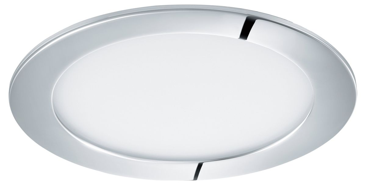 LED-alasvalo Eglo Fueva 1 10,9W Ø170mm IP44 kromi 96056