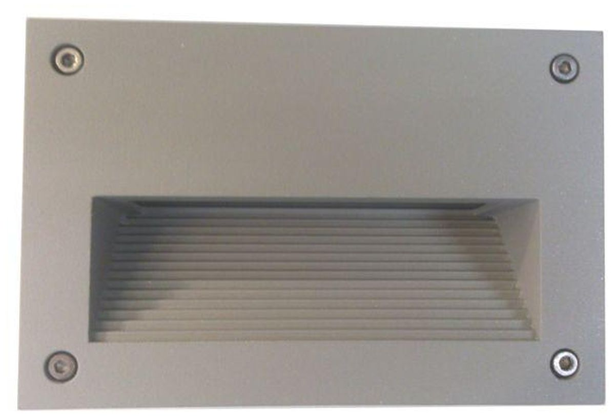 LED-muuri-/porrasvalaisin LedStore In-Wall Out 2 3W IP55