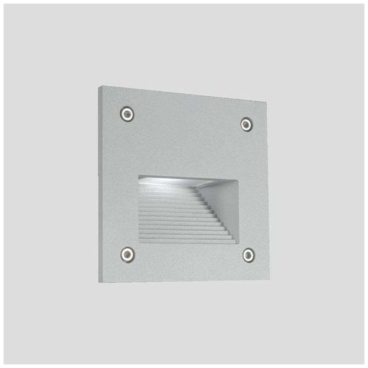 LED-muuri-/porrasvalaisin LedStore In-Wall Out 3W IP55