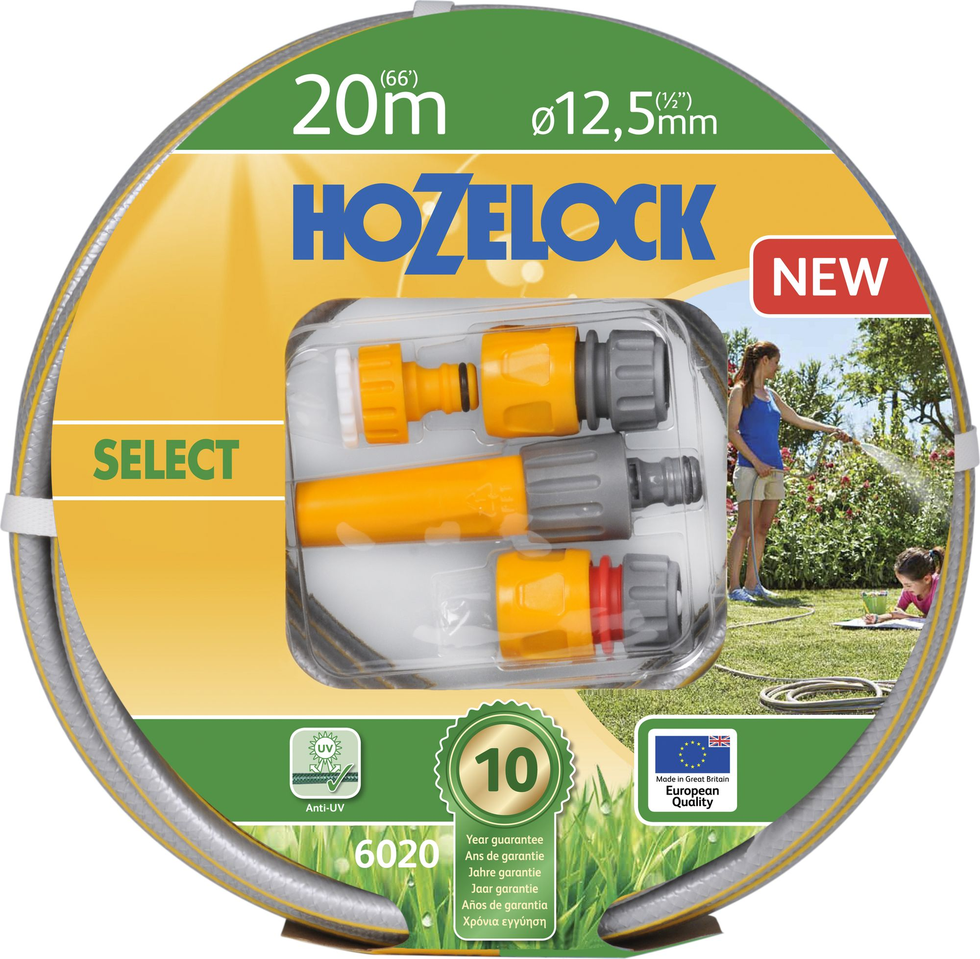 Letkusetti Hozelock Select 20 m 12,5 mm
