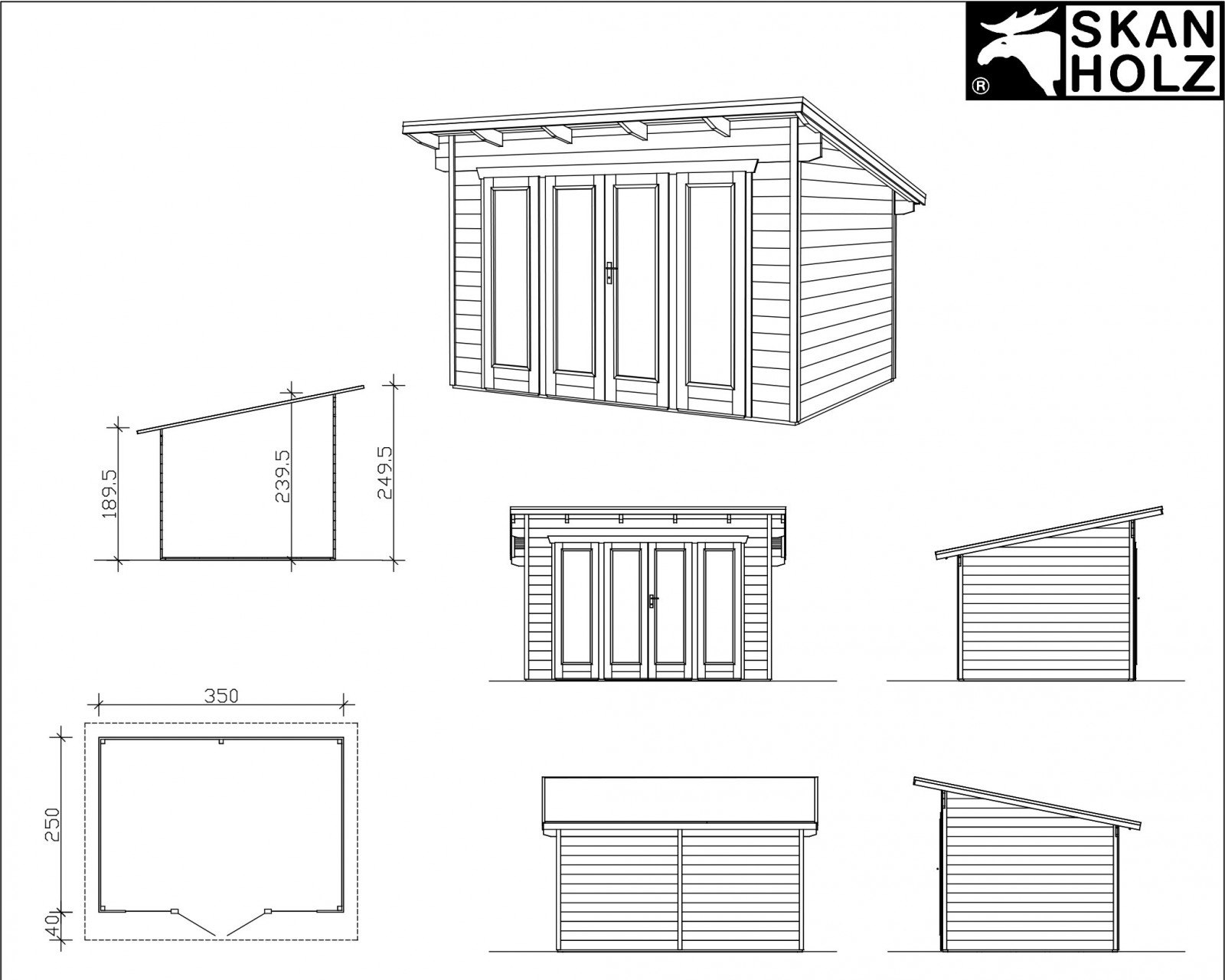 lomamaja skan holz ostende 1 vahvuus 28 mm 350x250 cm 8 75 m. Black Bedroom Furniture Sets. Home Design Ideas