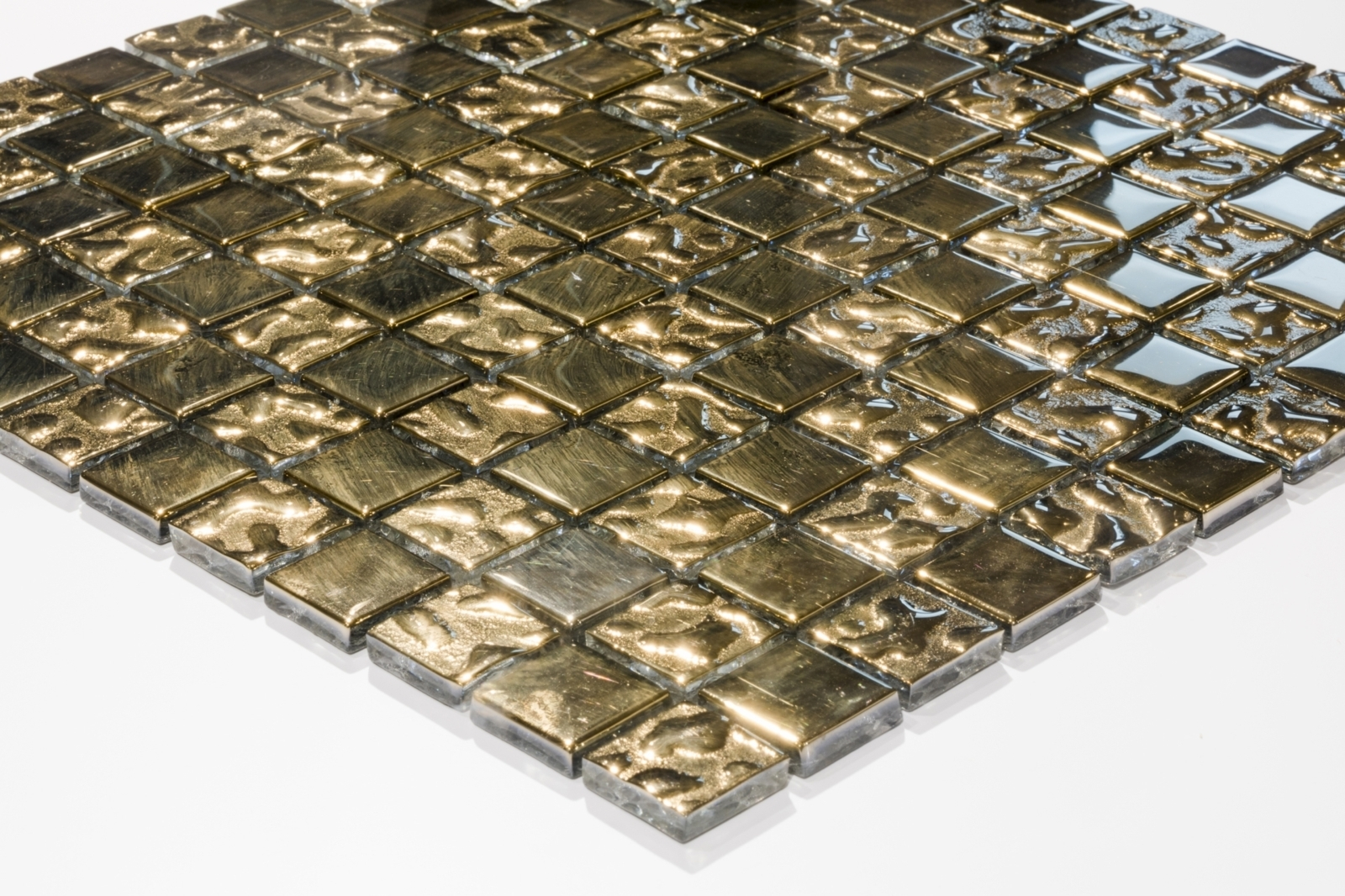 Mosaiikkilaatta Caisla Luxury Gold 22k Dream 300x300 mm kulta