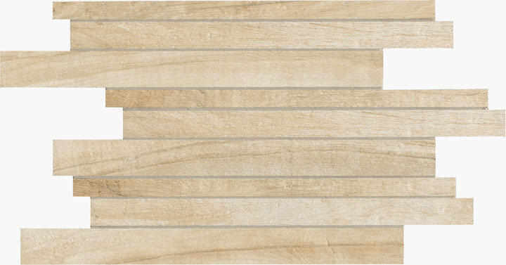 Mosaiikkilaatta Eco Dream Muretto Frassino 30x45 beige