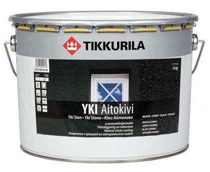 Pinnoite Tikkurila YKI Aitokivi 14 kg/10 l musta gabro