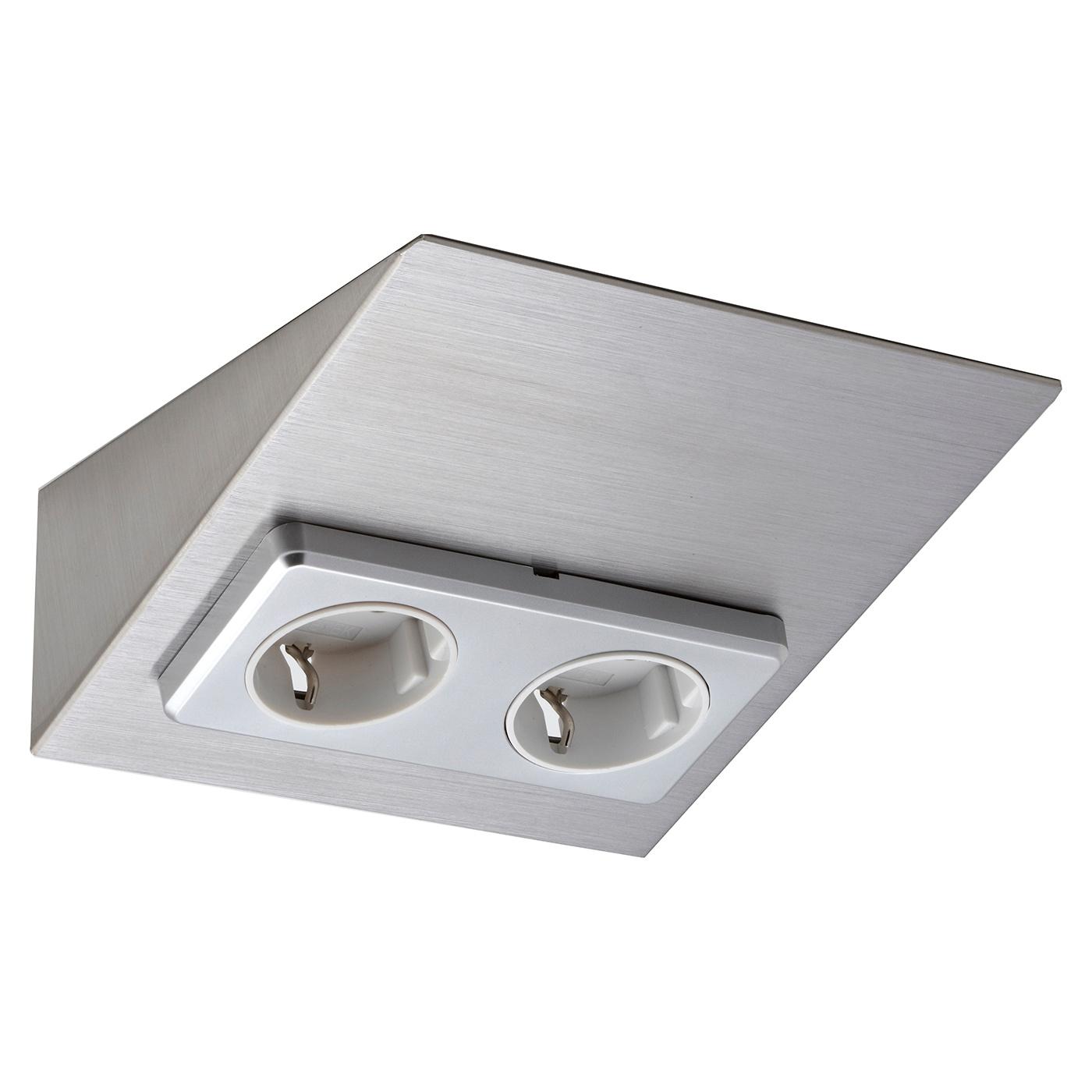 Pistorasia Limente Mini 2 16 A 230 V IP20 150×164 mm 2 osainen RST  Taloon com