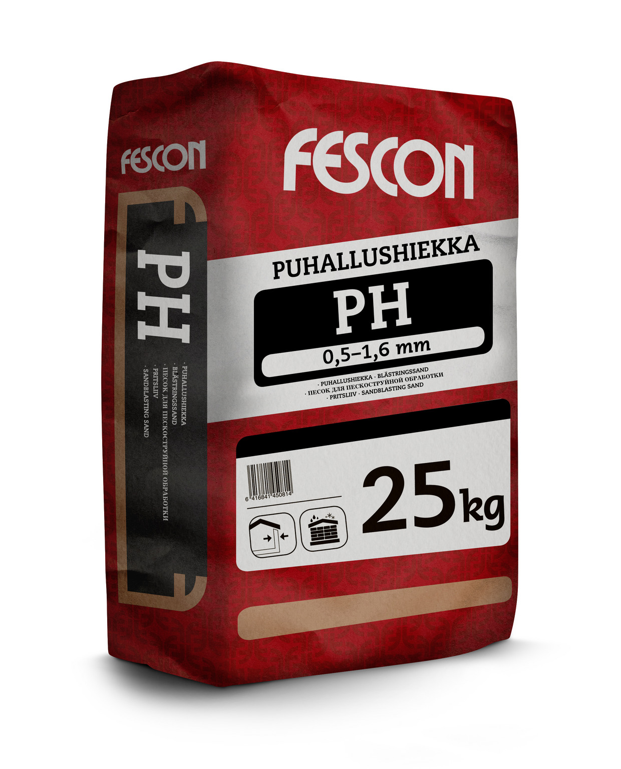 Puhallushiekka Fescon PH 0,5-1,6 mm 25 kg