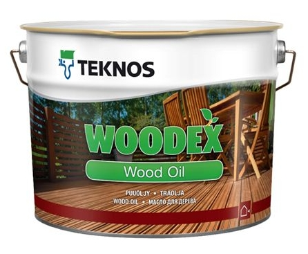 Puuöljy Teknos Woodex Wood Oil 9 l