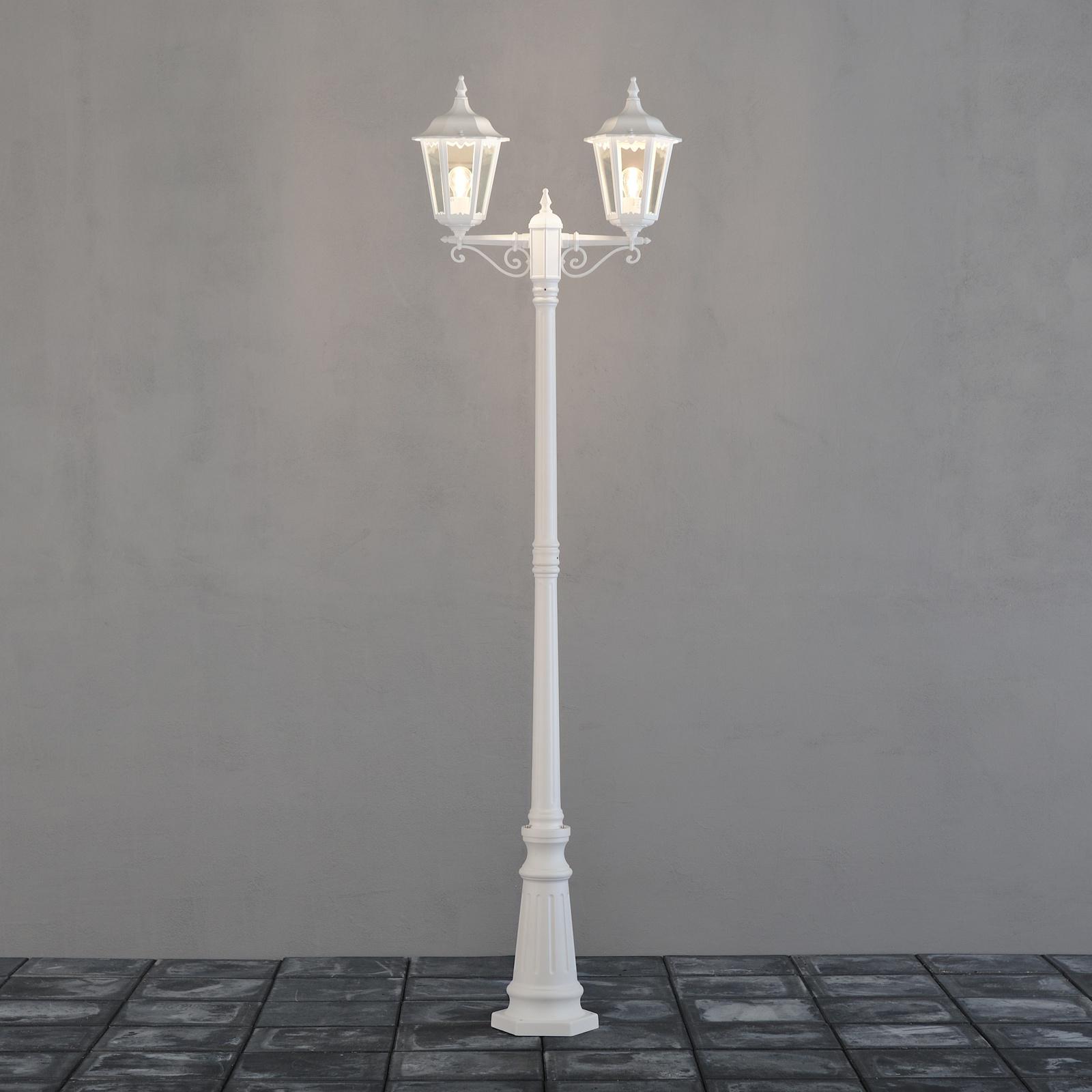 Pylväsvalaisin 7234-250 Firenze valkoinen 2-haarainen 2200 mm 4d5f1cb870