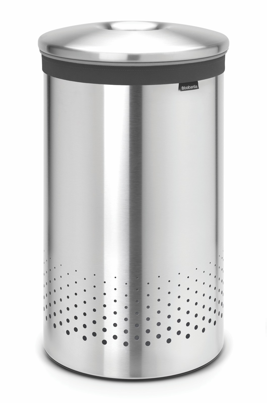 Pyykkikori Brabantia 60 L Quick-Drop Matt Steel