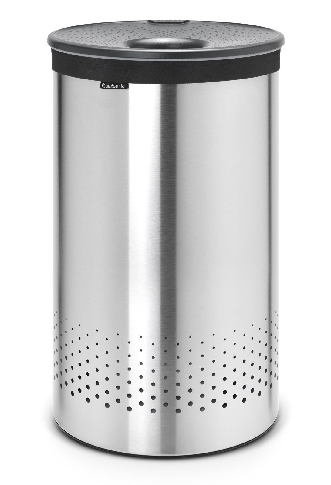 Pyykkikori Brabantia 60 L Quick-Drop Matt Steel/Cool Grey