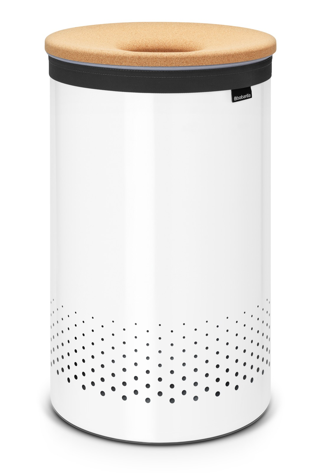 Pyykkikori Brabantia 60 L Quick-Drop White/Cork Brown