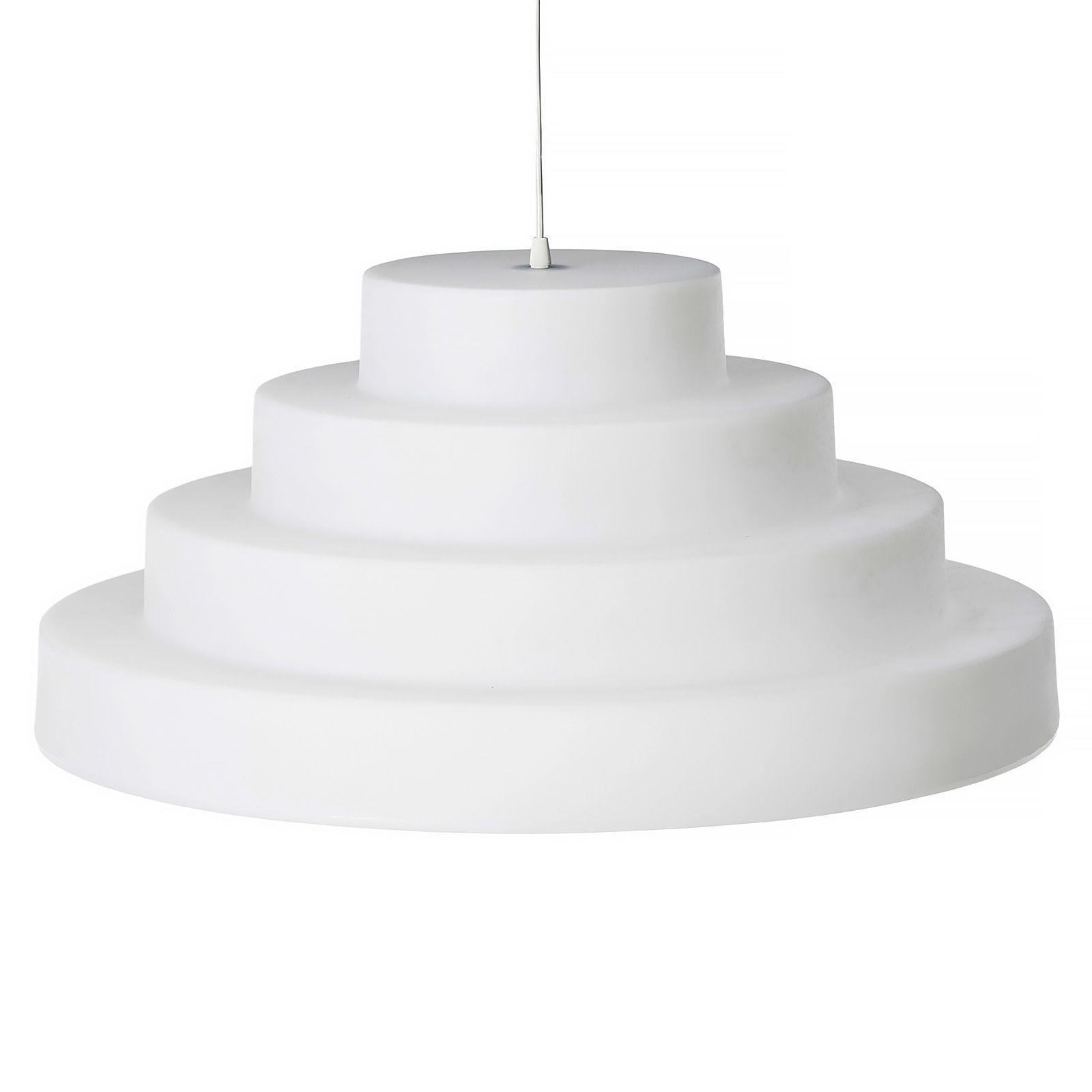 Riippuvalaisin Cake valkoinen
