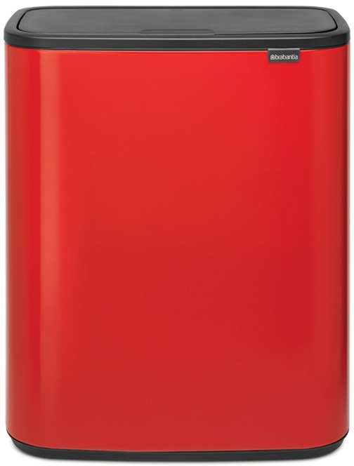 Roska-astia Brabantia Bo Touch, 2 x 30L, Passion Red