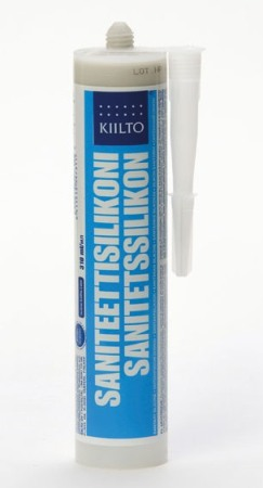 Saniteettisilikoni Kiilto 310 ml