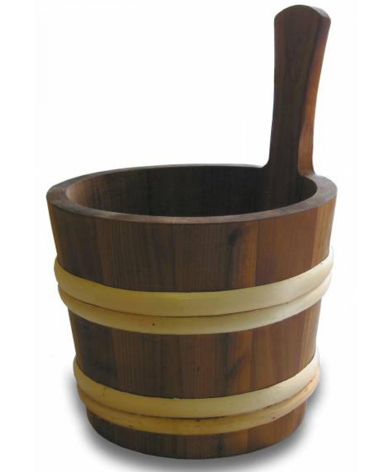Saunakiulu Saunia 4 l lämpökäsitelty puu  Taloon com