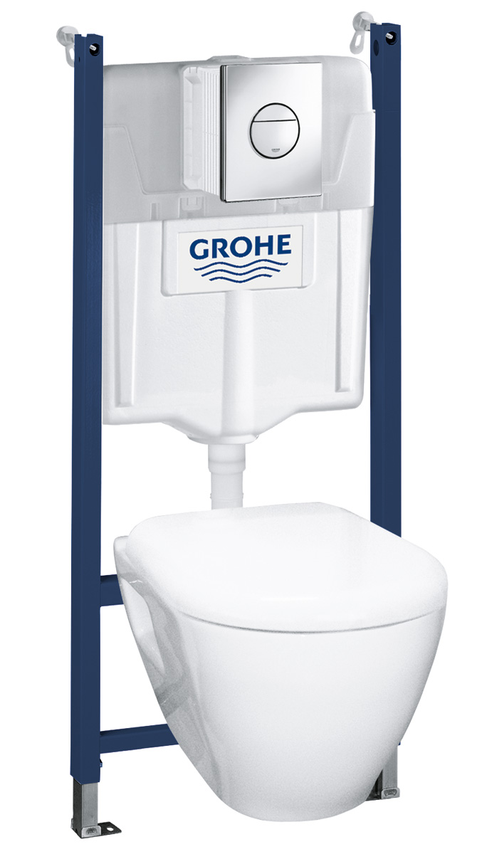 Seinä-WC -paketti Grohe Solido Perfect 5 in 1 (38973000)