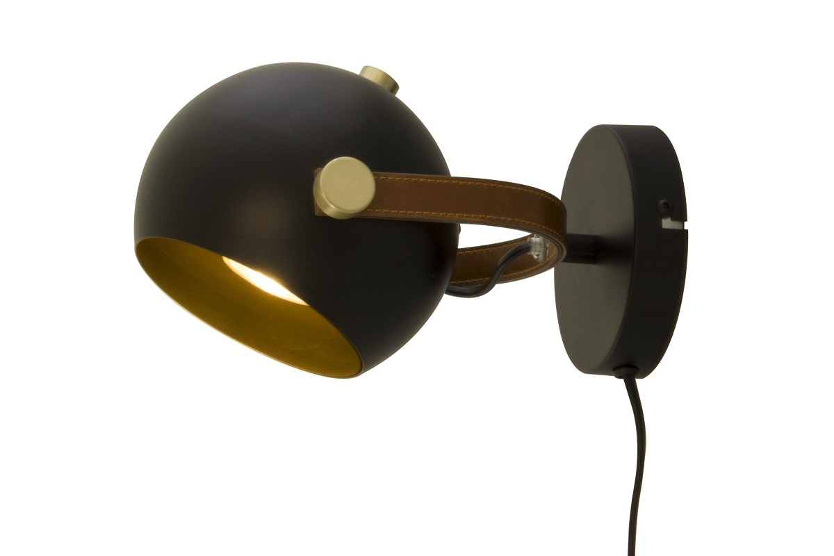 Seinävalaisin Scan Lamps Bow 7W Ø185x140 mm IP20 GU10 musta