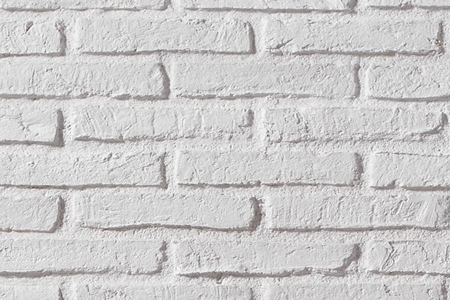 Sisustuslevy panelpiedra ladrillo r stico blanco - Ladrillo rustico blanco ...