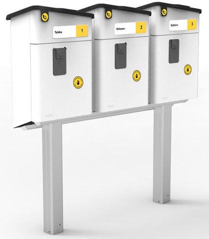 Stala postilaatikko jalka