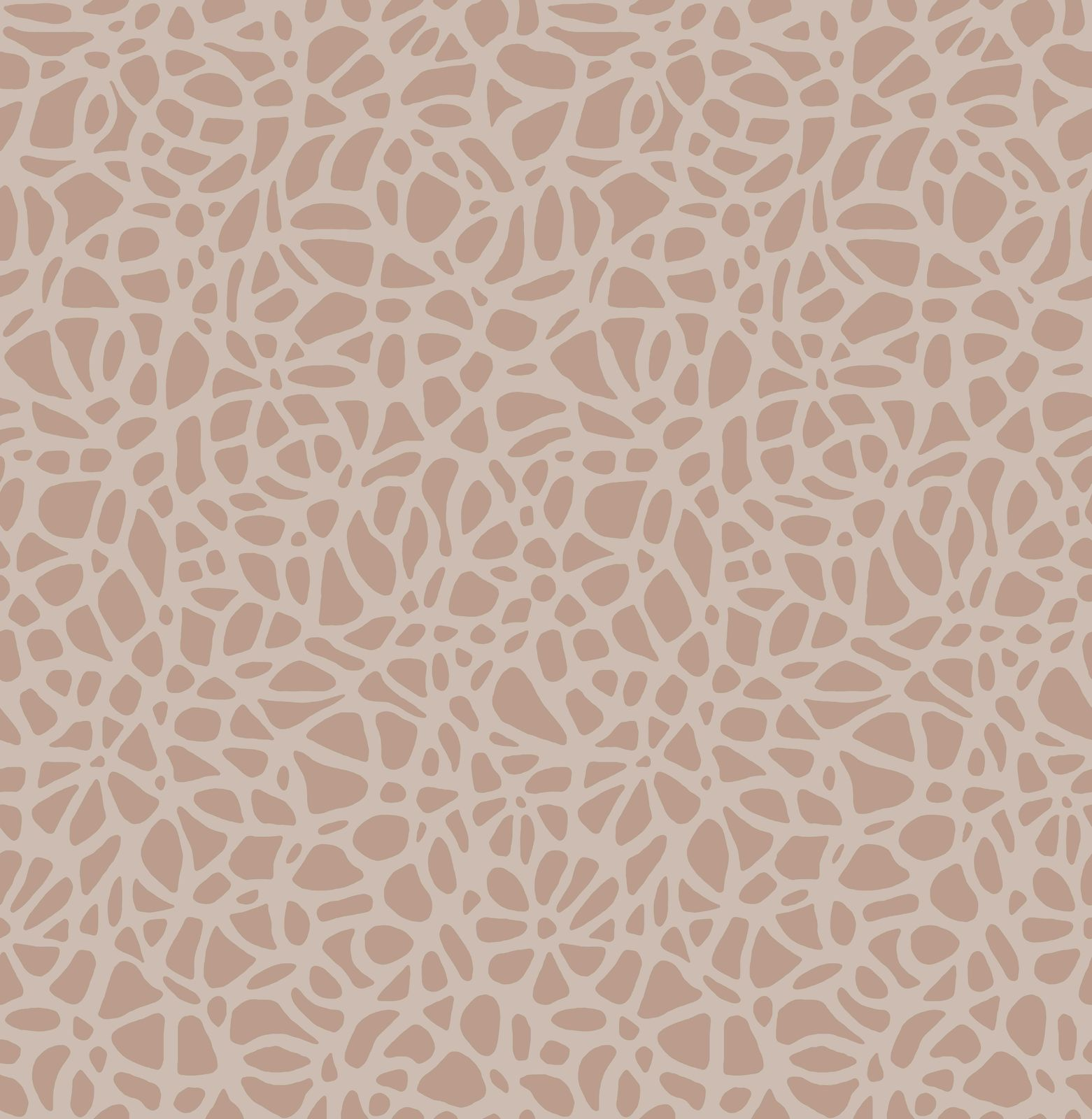 Tapetti 1838 Wallcoverings Pebble vaaleanpunainen 0,52x10,05 m