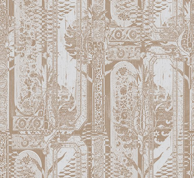 Tapetti HookedOnWalls Eclectic ruusukulta 0,70x10,05 m