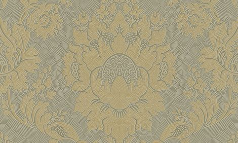 Tapetti HookedOnWalls Twisted Damask kulta 0,53x10,05 m