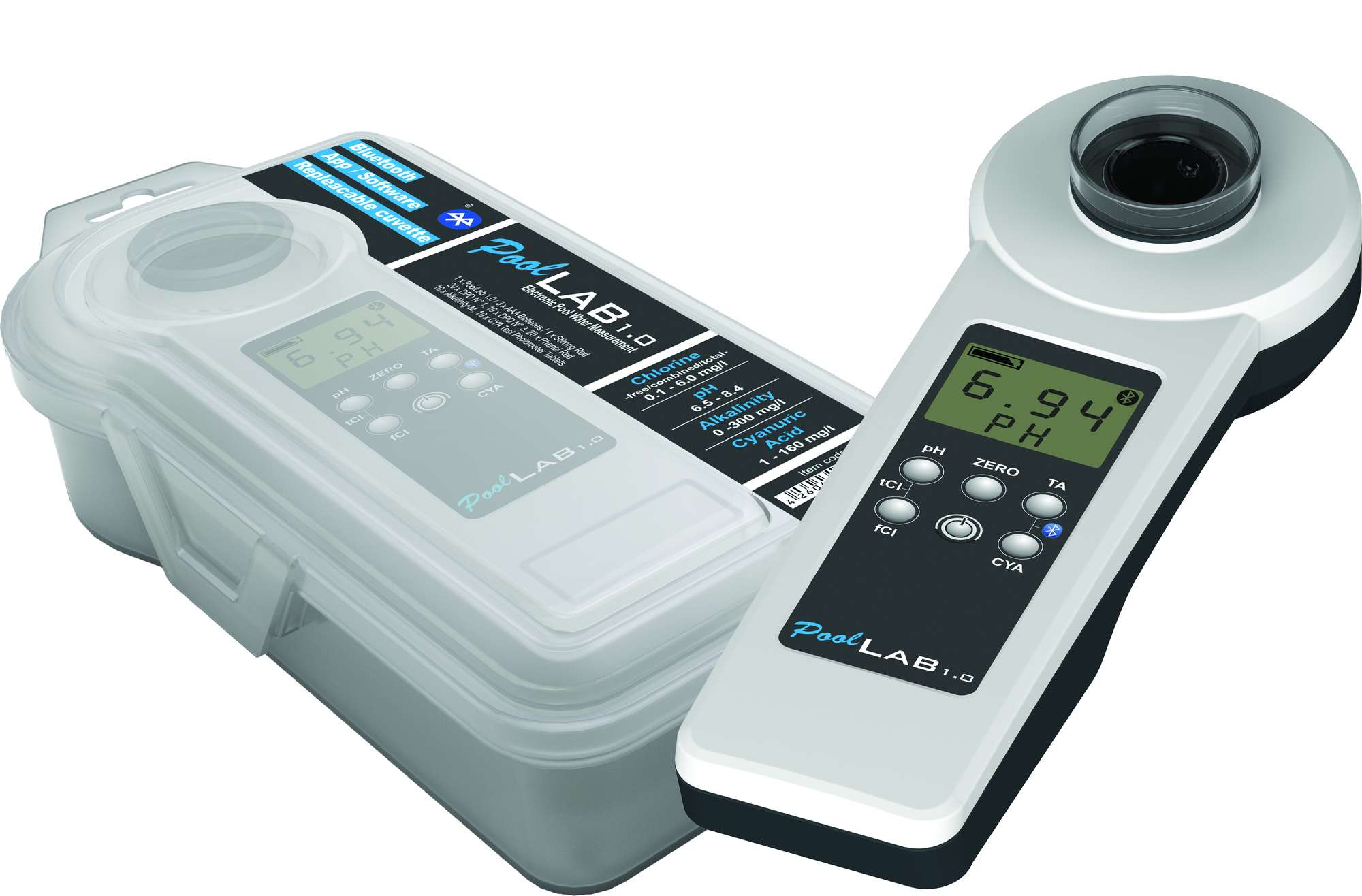 Testaussarja Swim & Fun Pool Lab Digital Tester
