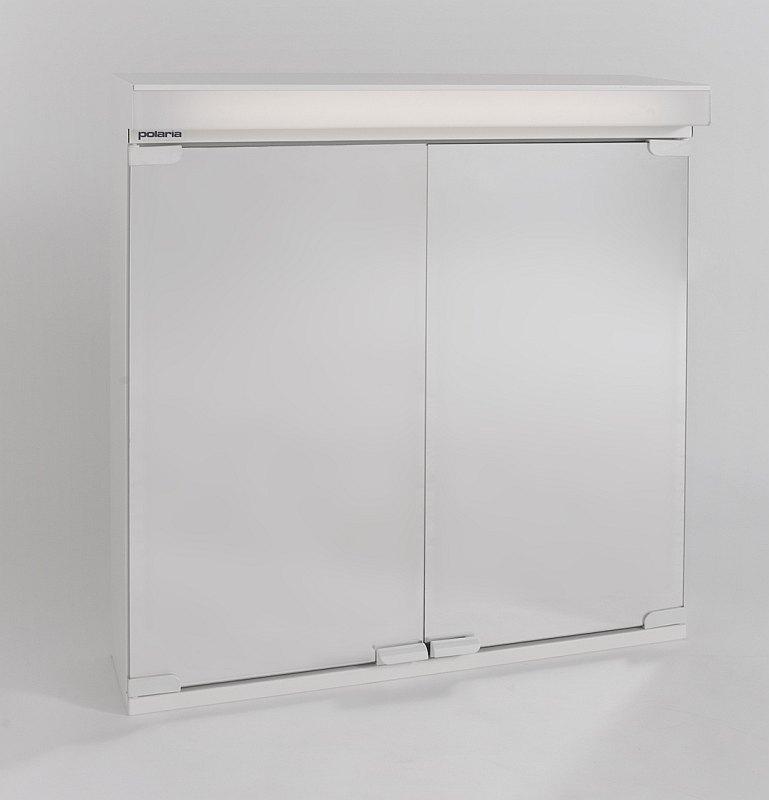 Valaisinpeilikaappi Polaria VPK 550 VVS vikavirtasuojalla oikea valkoinen  T