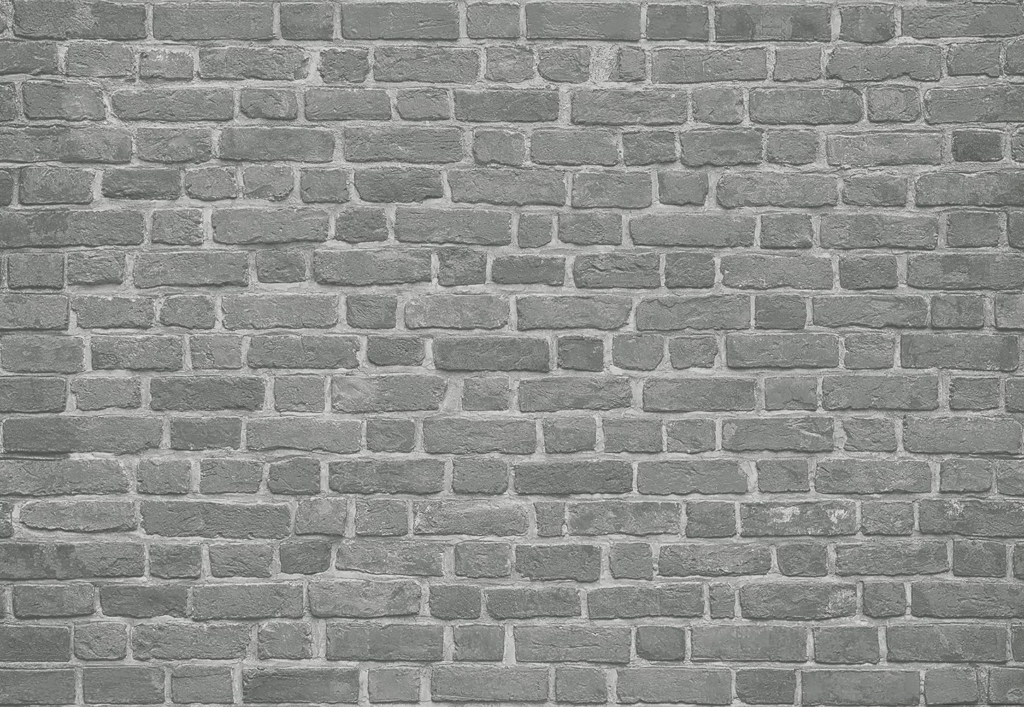Valokuvatapetti Idealdecor Digital Brick Wall Black 4-osaa 5200-4V-1 254x368 cm
