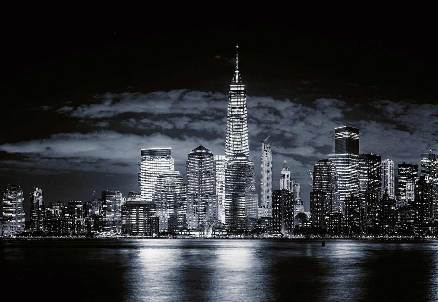 Valokuvatapetti Idealdecor Digital Skyline Of Manhattan 4-osaa 5108-4V-1 254x368 cm