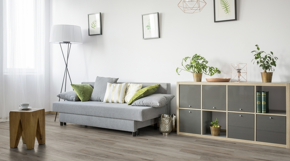 Vinyylilankku Gerflor Senso Clic Premium, Authentic Grey