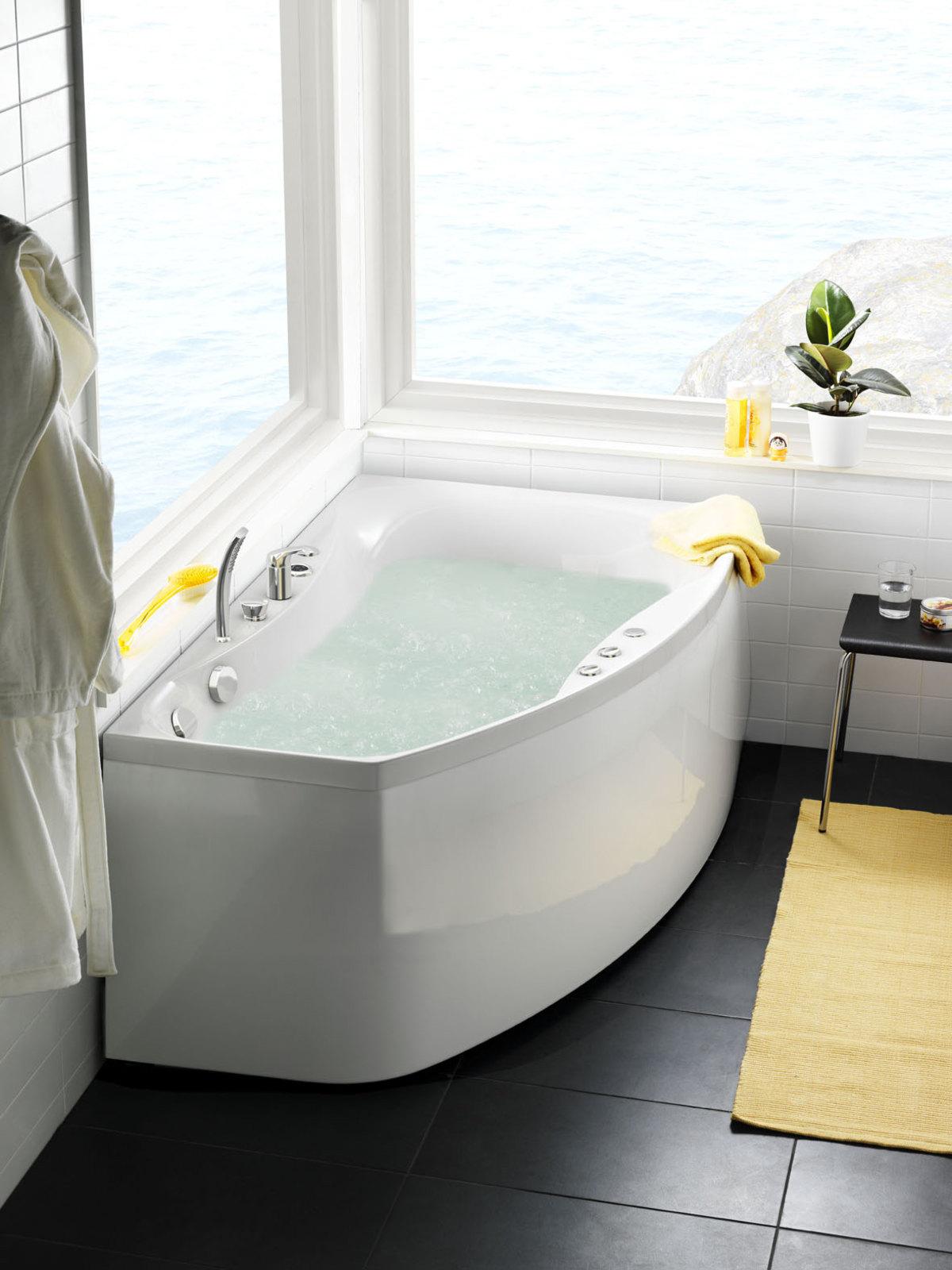 Poreammepaketti Ocean 160 L Comfort hanalla ja valkoisella etulevyllä