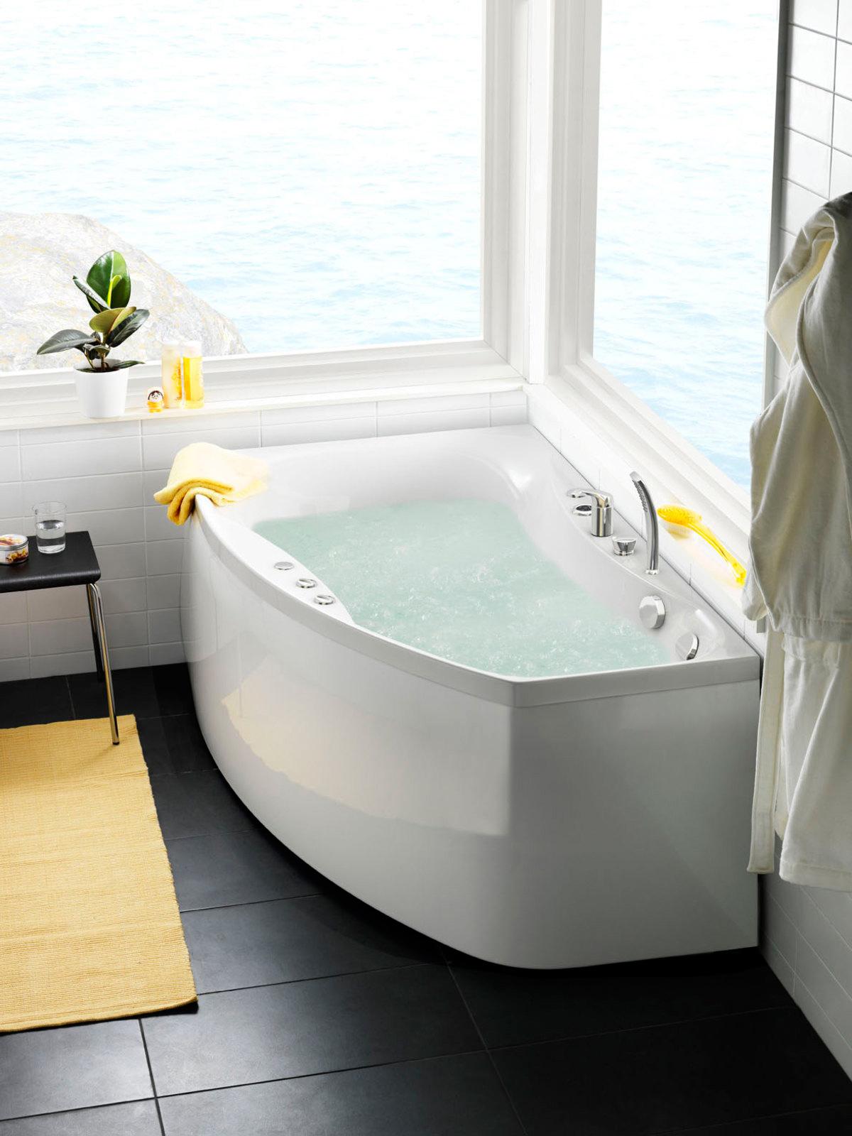 Poreammepaketti Ocean 160 R Comfort hanalla ja valkoisella etulevyllä