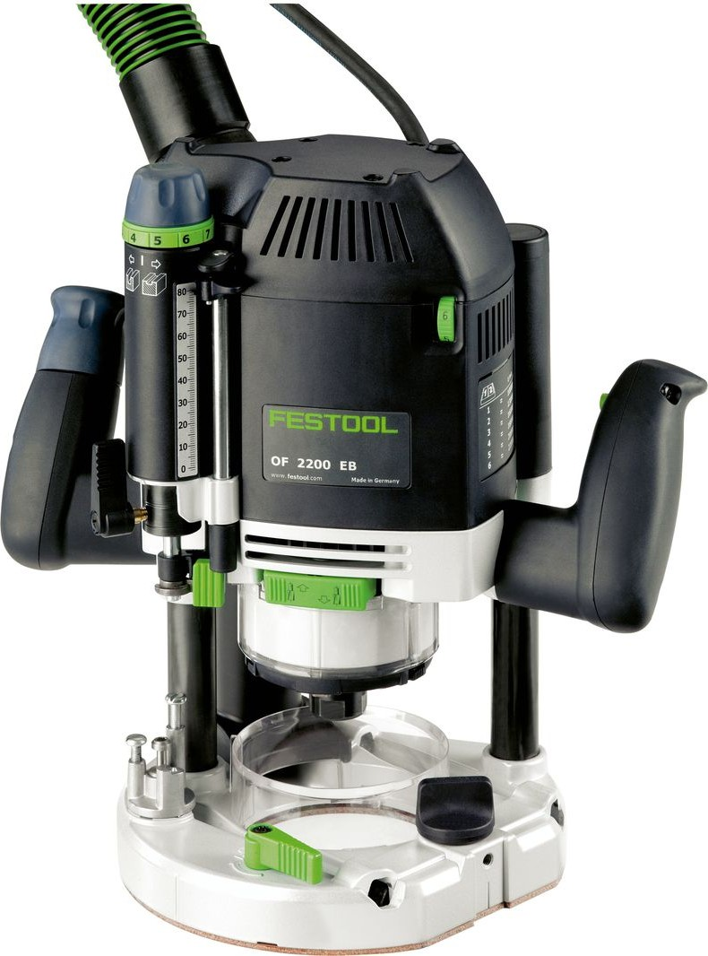 Yläjyrsin Festool OF 2200 EB-Set