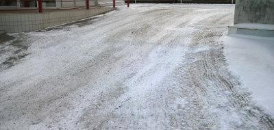 Lumityöt ja hiekoitus